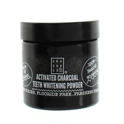AU16.18 • Buy Activated Charcoal Teeth Whitening Powder 50g Tooth Fluoride Free By Grounded