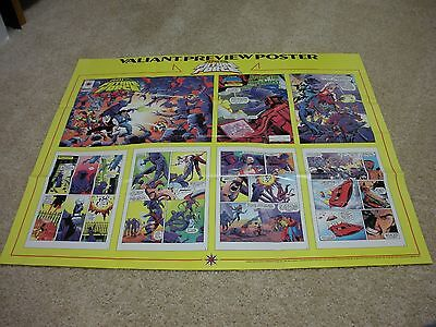 Valiant Comics Preview Poster   Rai And The Future Force   X-Large 31  By 27  • 1.56£