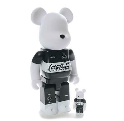 $499.99 • Buy FCRB X Coca Cola Bearbrick 100% & 400% Set Figure From Japan Free Shipping