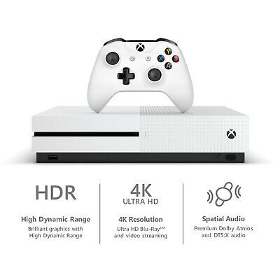 $379.99 • Buy NEW Microsoft Xbox One S 1TB Console Gaming Bundle W/ Controller + Game Pass