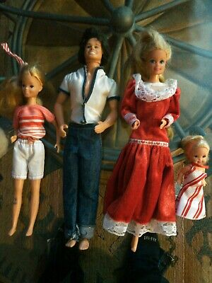 $ CDN64.09 • Buy Vintage Barbie Dolls  Lot Of 4