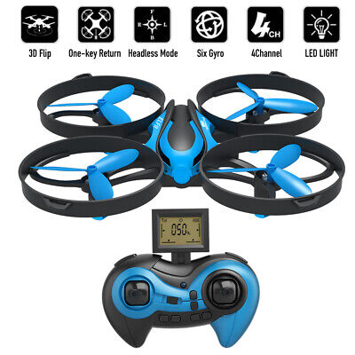 $20.89 • Buy Mini RC Drone Mode 3D 360° Flips & Rolls 2.4G Gyro Quadcopter With Altitude Hold