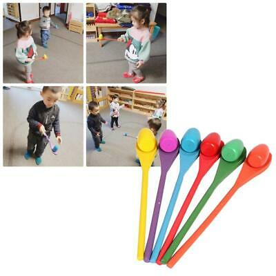 Egg And Spoon Race Game Early Education Outdoor Interactive Training Game Toys • 11.43£