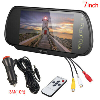 AU44.99 • Buy 7  LCD Mirror Screen Monitor For Car Rear View Backup Camera Reverse Parking