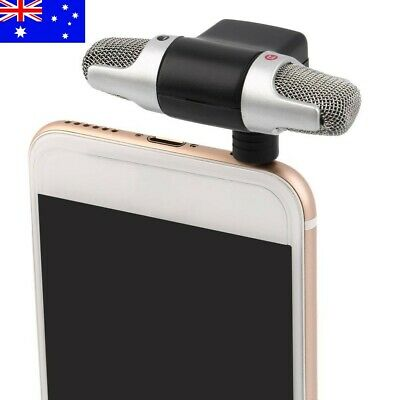 AU7.99 • Buy NEW Mini Microphone Digital Stereo For Recorder PC Mobile Phone Laptop Portable