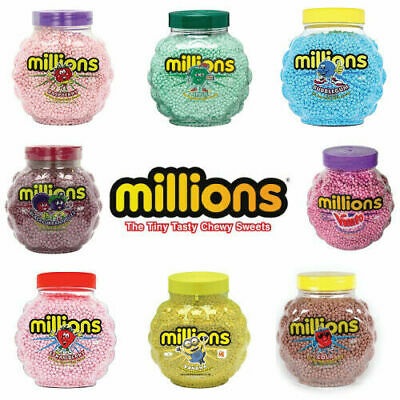 £3.91 • Buy MILLIONS SWEETS RETRO CANDY Kids Treats Pick N Mix CHEWY BUBBLEGUM SWEETS