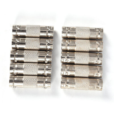 $ CDN4.63 • Buy 10Pcs BNC Female To BNC Female Connector Couplers Adapter For CCTV Video Came JA