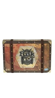 $38 • Buy New Risk 60th Anniversary Edition The Game Of Strategic Conquest By Hasbro