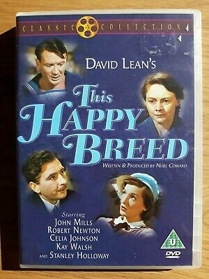 This Happy Breed DVD - Celia Johnson, John Mills, Kay Walsh, Stanley Holloway,  • 10£