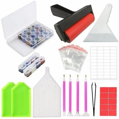 Accessories Diamond Painting Tool Box For Kids And Adult Art Activity Embroidery • 21.57£