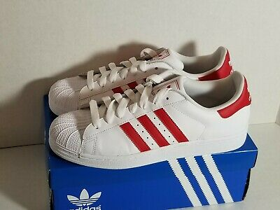 $ CDN87.97 • Buy Adidas SUPERSTAR 2 G43681 Red Stripes US Sz. 10 W/ Box Excellent Condition