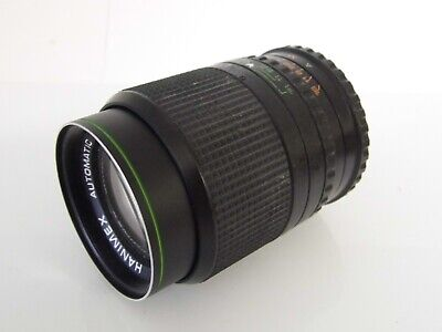 Hanimex Automatic 1:2.8 Lens 135mm, 55mm Filter Fitting • 9.95£