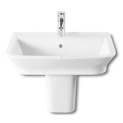 £203.95 • Buy Roca The Gap Basin And Semi Pedestal, 600mm Wide, 1 Tap Hole