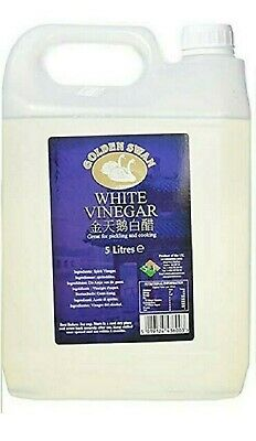£9.95 • Buy Golden Swan White Vinegar For Cleaning Pickling Marinating Cooking 5 Litres