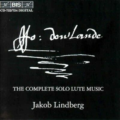 Complete Lute Works (Lindberg) CD NEW • 37.77£