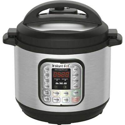 $69 • Buy Instant Pot DUO80 8 Quart 7-in-1 Slow Cooker - Silver