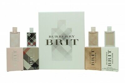 £33.04 • Buy Burberry Brit For Her Miniature Gift Set 4 Pieces - Women's For Her. New