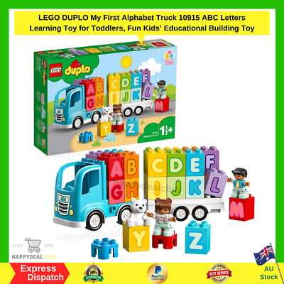 AU32.99 • Buy LEGO DUPLO My First Alphabet Truck 10915 ABC Letters Learning Toy For Toddlers