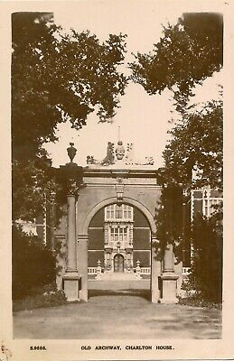 LONDON SE 7 GREENWICH  CHARLTON CHARLTON HOUSE OLD ARCHWAY  RP Pu 1925 • 3.50£
