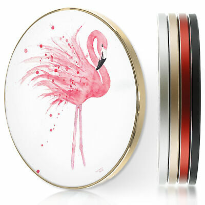 AU44.12 • Buy Pink Flamingo QI Wireless Fast Charger For Apple Iphone 11/XS/8/Samsung S10/S9
