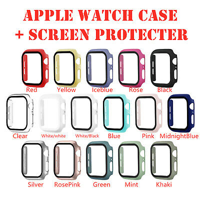 $ CDN6.40 • Buy For Apple Watch Series 4/3/2/1 Full Bumper Cover TPU Case + Screen Protector
