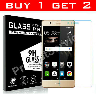 PREMIUM QUALITY GORILLA-TEMPERED GLASS SCREEN PROTECTOR FOR HUAWEI P10 Lite 2017 • 2.19£