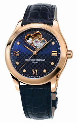 $1449 • Buy Frederique Constant Double Heart Beat Automatic Womens Watch FC-310NDHB3B4