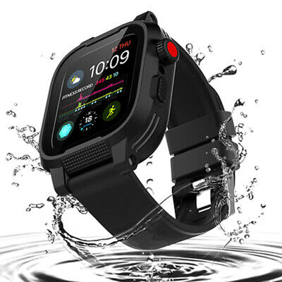 $ CDN26.62 • Buy Waterproof Case Apple Watch Series 5/4 42/44mm With Screen Protector Watch Band