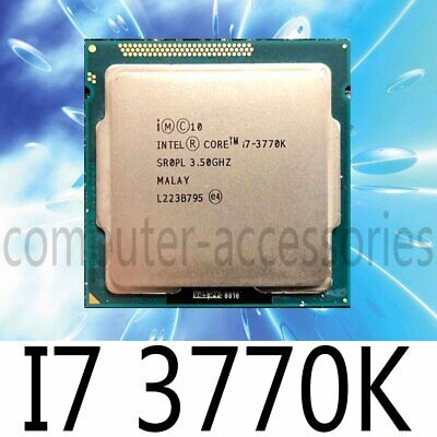 Intel Core I5-2500K 2550K I5-3570K I7-2600K 2700K I7-3770K LGA1155 CPU Processor • 116.80£
