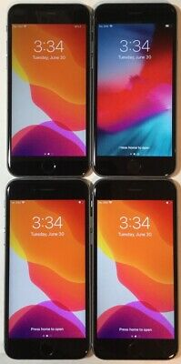 $ CDN517.08 • Buy LOT OF FOUR TESTED CDMA + GSM UNLOCKED AT&T APPLE IPhone 6S 32GB PHONES A160J