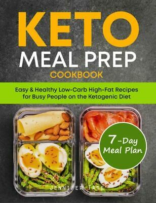$1.99 • Buy Keto Meal Prep Cookbook  Easy & Healthy Low-Carb High-Fat Recipes [P.D.F)