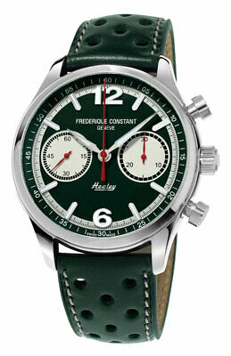 $1879 • Buy Frederique Constant Vintage Rally Healey Chrono Automatic Mens Watch FC397HGR5B6