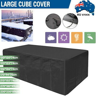 AU31.09 • Buy Waterproof Outdoor Furniture Cover Garden Patio UV Table Protector Sofa Shelter