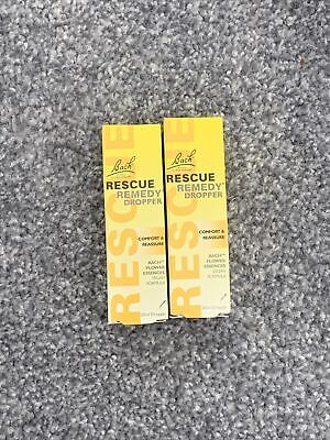 Bach Rescue Remedy Dropper - 20ml X2 • 10.99£
