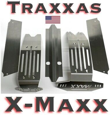 AU67.98 • Buy Traxxas X-Maxx XMAXX Stainless Steel Chassis Armor Complete 5pc Skid Plate Set