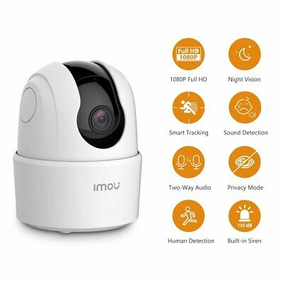 £29.98 • Buy Imou Indoor Wi-Fi IP Security Camera 1080P FHD PTZ Wireless Camera Baby Monitor