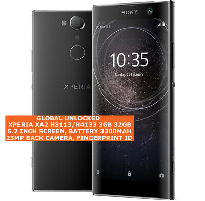 $ CDN354.98 • Buy SONY XPERIA XA2 H3113/H4133 3gb 32gb 23mp Fingerprint 5.2  Android Smartphone 4g