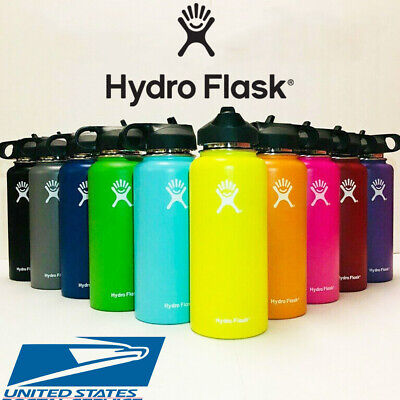 $8 • Buy Hydro Flask Water Bottle | Stainless Steel &Vacuum Insulated Straw Lid - US SELL