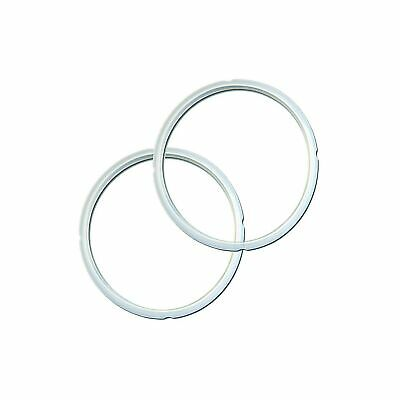 $16.54 • Buy Genuine Instant Pot Sealing Ring 2 Pack Clear 5 Or 6 Quart