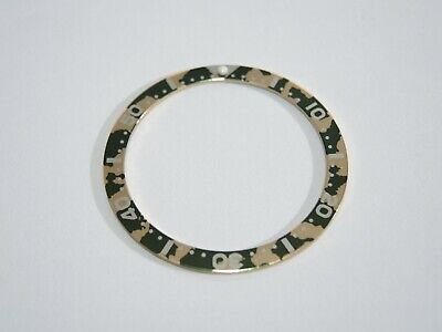 $ CDN23.67 • Buy  New Bezel Insert Camouflage Style Fits Seiko Skx007 /6309 /7002 Diver's Watch