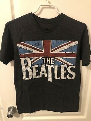 $ CDN20 • Buy Authentic Vintage The Beatles Dark Gray Mens T-shirt - Size S - Official Product