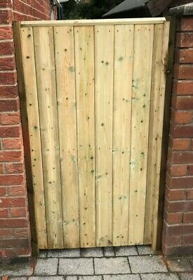 Wooden Gate Made To Measure Tongue & Groove Garden Gate • 110£