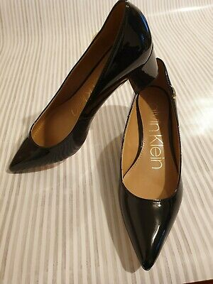 £33.99 • Buy Calvin Klein Black Shoes With Heel Size 4 Uk Brand New