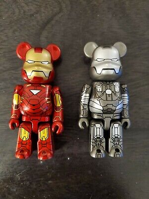 $119 • Buy Bearbrick / Be Rbrick Series 20 Sf Front Back Iron Man2 Mark Ⅵ War Machine.