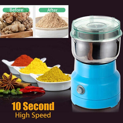 AU27.39 • Buy Electric Coffee Bean Grinder Machine Compact Portable Spice Herb Grinding Tool