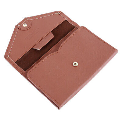 AU7.63 • Buy Men And Women Leather Travel Accessories New Trend Brown Simple Ultra-Thin LS