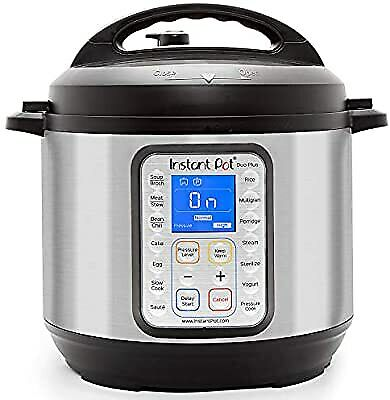 $50 • Buy Instant Pot DUO Plus 6 Qt 9 In 1 Multi Use Programmable Pressure Cooker - DENTED