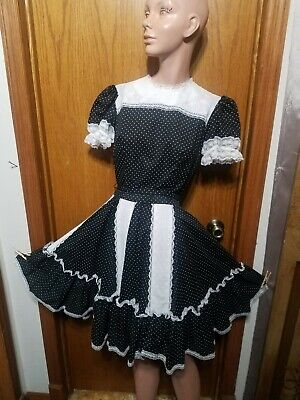 $25.99 • Buy Sz S NEW NWT FULL TWIRL Vtg Square Dance Circle Skirt Western Rockabilly Lace