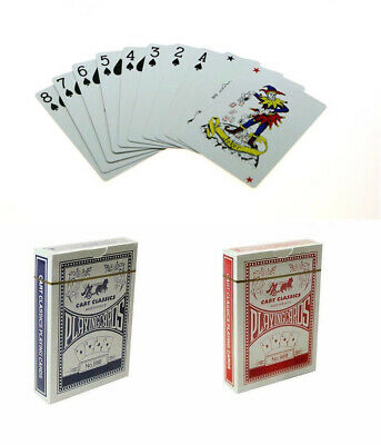 Professional Plastic Coated Durable Playing Cards Waterproof Casino Poker Deck • 3.49£