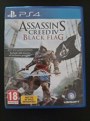Assassins Creed Black Flag Exclusive Edition. Ps4.⚓PERFECT CONDITION⚓ • 11£